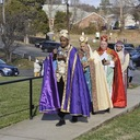 We Three Kings of Orient are, bearing gifts at St Mary Star of the Sea Church! photo album thumbnail 4
